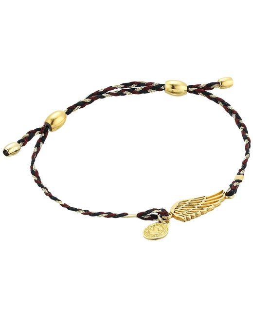 ALEX AND ANI - Metallic Precious Threads Wing Woodland Braid Bracelet - Lyst