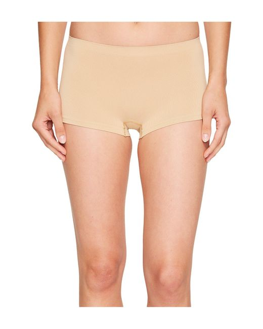 Hanro - Natural Touch Feeling Low-rise Boyleg 1696 (white) Women's Underwear - Lyst
