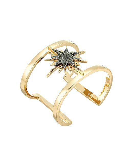 Vince Camuto - Metallic Celestial Skies Star T Cuff Bracelet - Lyst