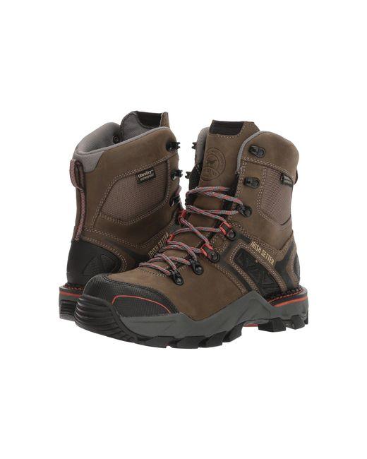 Irish Setter - Multicolor Crosby 8 Waterproof Hiker (grey/black) Women's Work Boots - Lyst