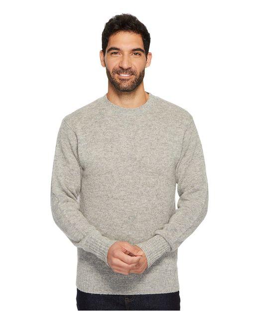Pendleton - Gray Shetland Crew Sweater (midnight Camo) Men's Sweater for Men - Lyst