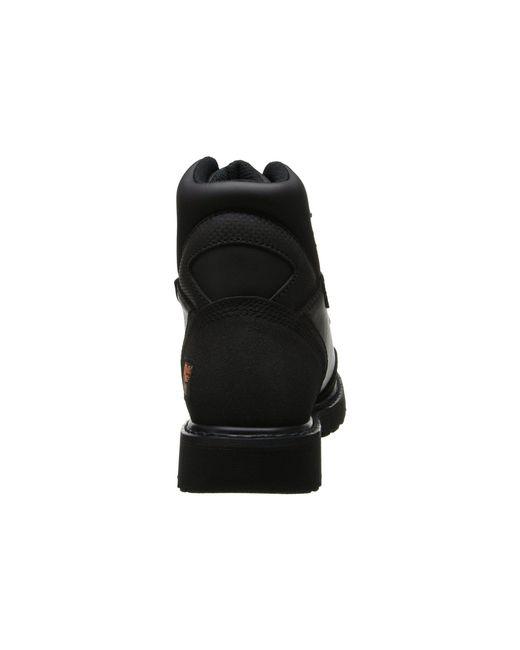 78f1468e0f99d ... Timberland - Met Guard 6 Steel Toe (black Ever-guard Leather) Men s  Work ...
