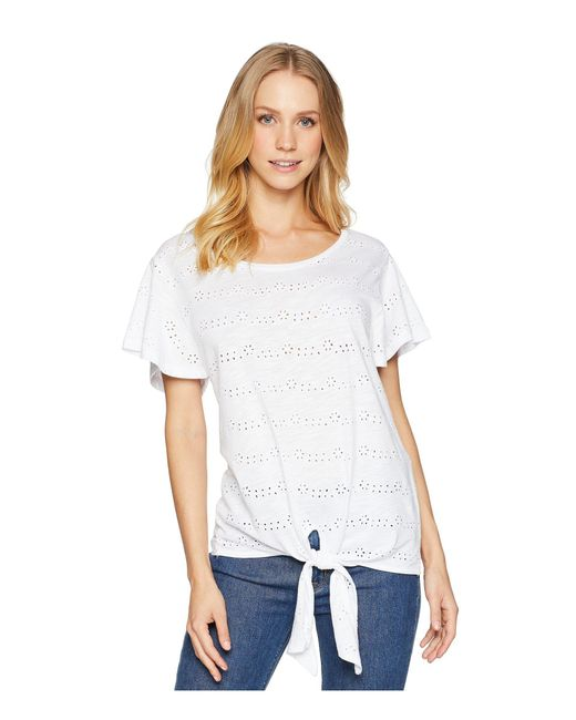 Sanctuary - Hayden Tee (white) Women's T Shirt - Lyst