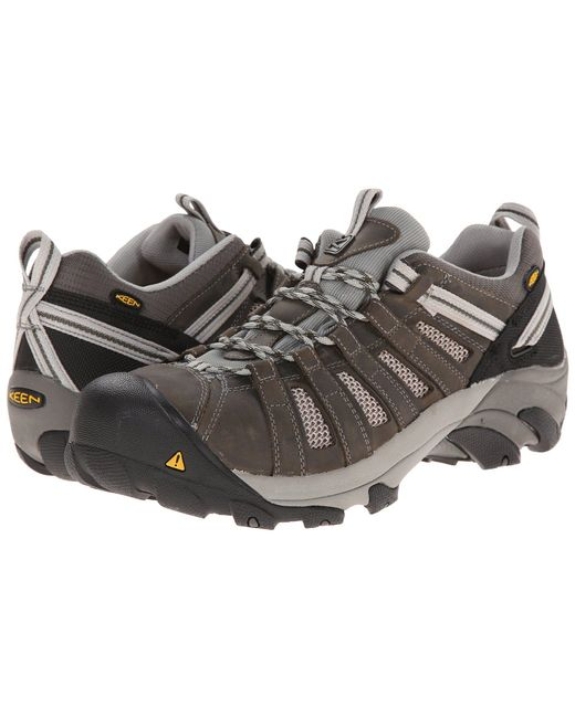 Keen Utility - Brown Flint Low (gargoyle/forest Night) Men's Work Lace-up Boots for Men - Lyst