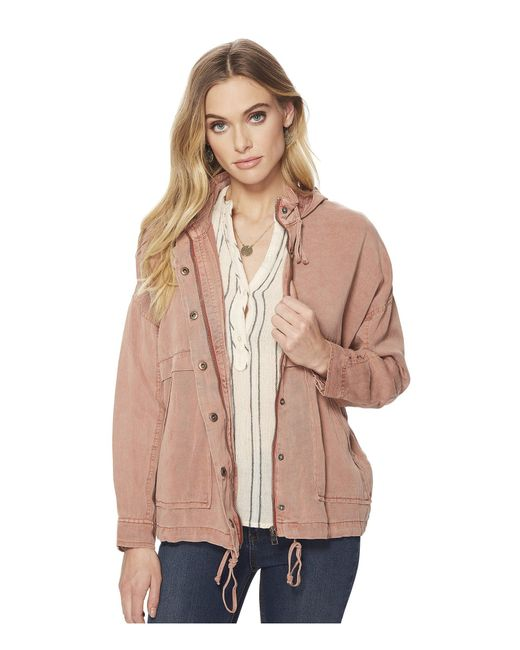 Lucky Brand - Multicolor Full Zip Hooded Jacket - Lyst
