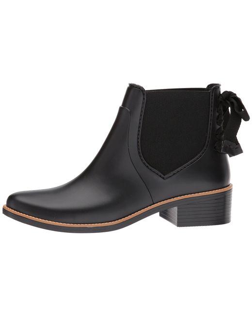 285f9dfcb1f Lyst - Bernardo Paxton Rain Boot (navy) Women s Rain Boots in Black ...