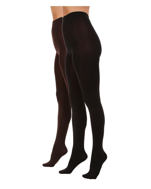 Hue - Brown Absolute Opaque Tights - Lyst