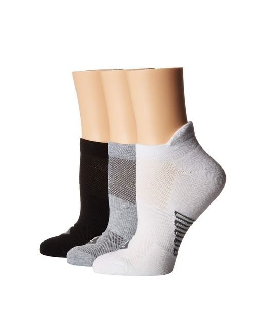 Sperry Top-Sider - Black 3-pack Performance Tab Ultra Low Show (gray Marl Assorted) Women's No Show Socks Shoes - Lyst
