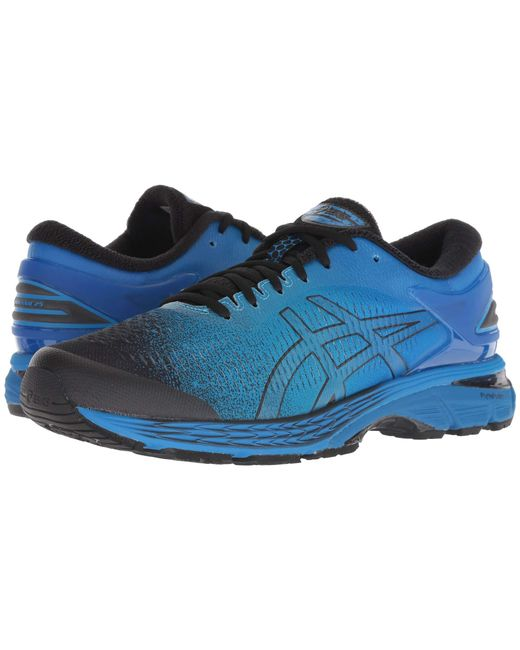 957aed661877 Lyst - Asics Gel-kayano(r) 25 (black neon Lime) Men s Running Shoes ...