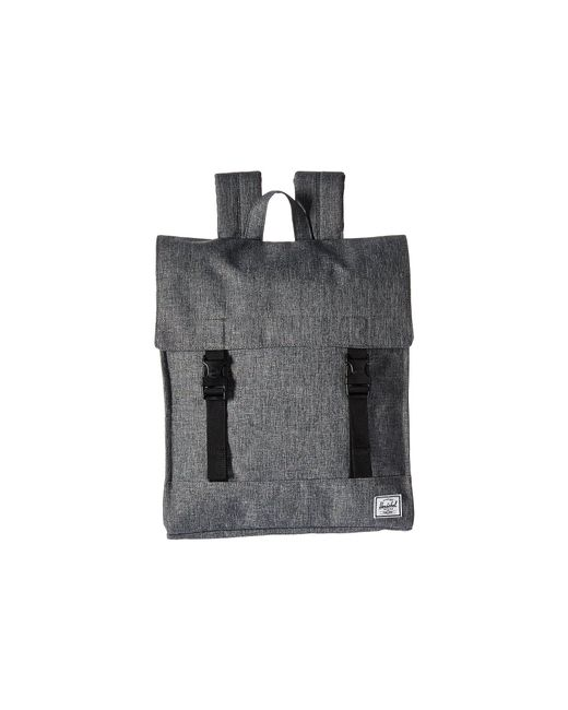 Herschel Supply Co. - Black Survey (canteen Crosshatch) Backpack Bags for Men - Lyst