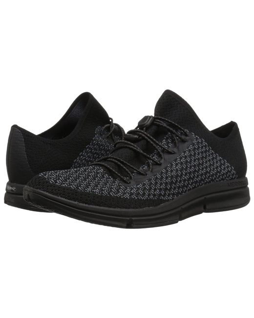 Merrell - Zoe Sojourn Lace Knit Q2 (black/castlerock) Women's Shoes - Lyst