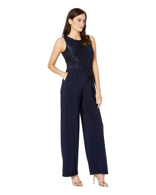 b082d529c9f ... Lauren by Ralph Lauren - Blue 6r Matte Jersey Toki Jumpsuit (lighthouse  Navy) Women s