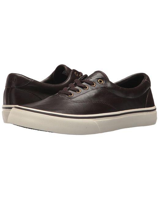 Polo Ralph Lauren - Brown Thorton (newport Navy) Men's Shoes for Men - Lyst