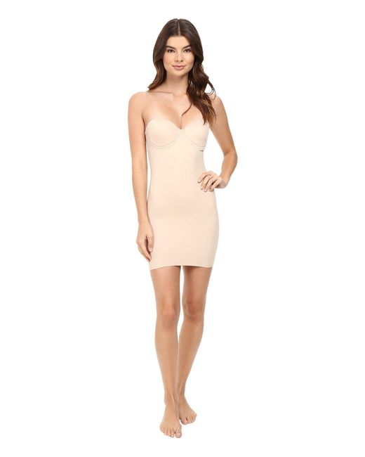Miraclesuit - Multicolor Real Smooth Strapless Slip (nude) Women's Bra - Lyst