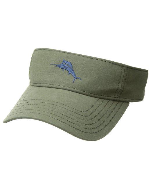 Tommy Bahama - Green Cotton Blend Visor (navy) Caps - Lyst
