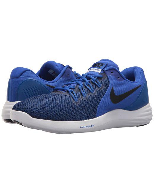 7c6e134a5d18d discount nike blue lunar apparent black white cool grey mens running shoes  23622 887a9