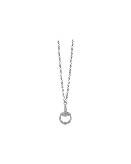 Gucci - Metallic 55cm Horsebit Light Necklace - Lyst