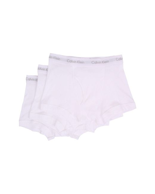 CALVIN KLEIN 205W39NYC - White Cotton Classics Trunk 3-pack Nb1119 for Men - Lyst