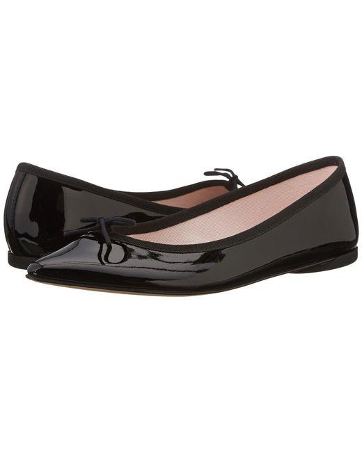 Repetto | Pink Brigitte Patent Leather Ballerinas | Lyst