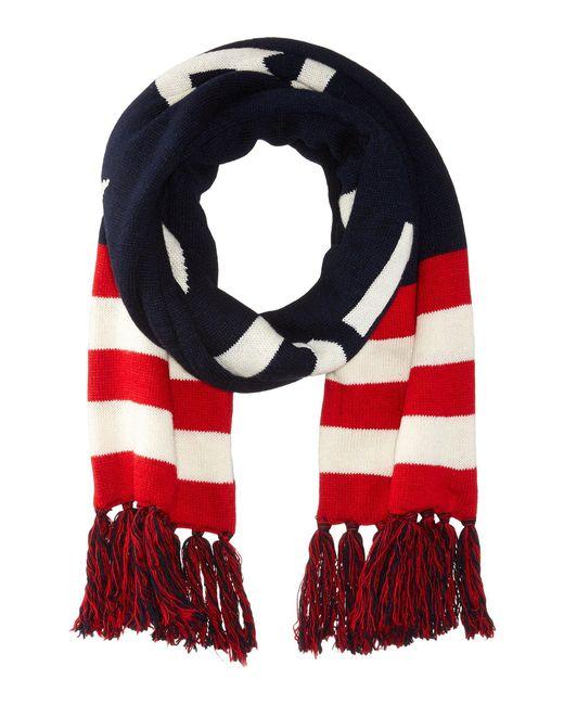 Polo Ralph Lauren - Blue Polo Rl Usa Stadium Scarf (navy) Scarves for Men - Lyst