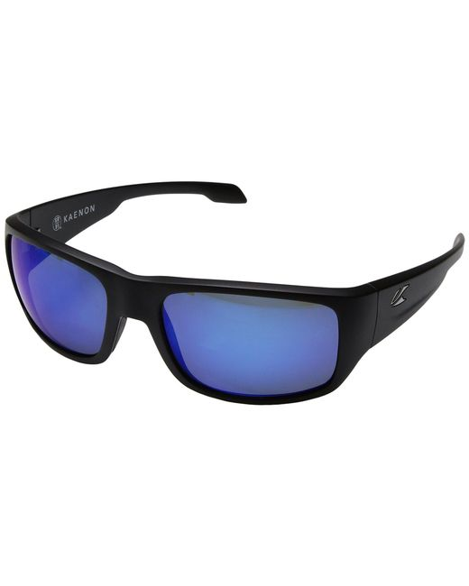 Kaenon - Anacapa (matte Tortoise/pacific Blue Mirror) Sport Sunglasses for Men - Lyst
