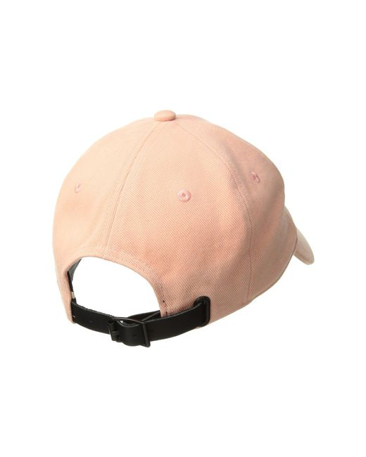 4a3c5e7986b ... Rag   Bone - Natural Marilyn Baseball Cap (navy Gingham) Baseball Caps  - Lyst