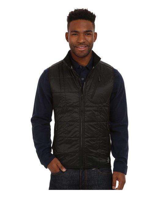 Smartwool | Black Corbet 120 Vest for Men | Lyst