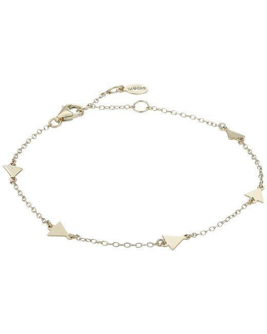 Shashi - Metallic Arrow Multi Bracelet - Lyst