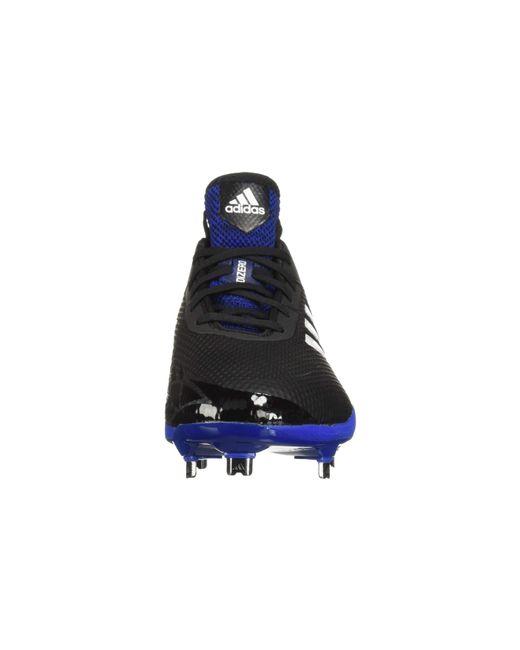 promo code 56e30 08511 ... Adidas - Adizero Afterburner V (cloud Whiteblackblack) Mens Cleated  Shoes