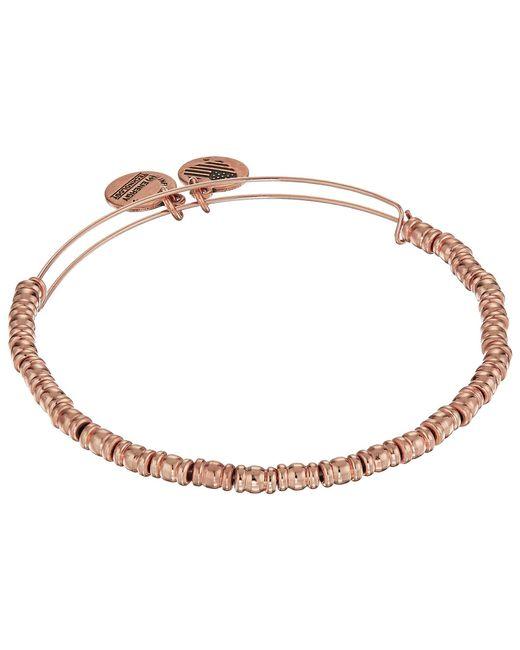 ALEX AND ANI - Multicolor Rocker Bangle Bracelet (shiny Silver) Bracelet - Lyst