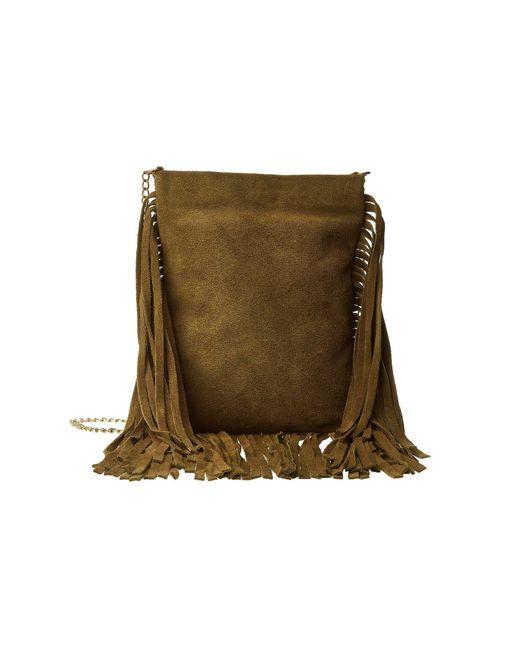 Leatherock - Green Cp59 (split Brown/amber) Handbags - Lyst