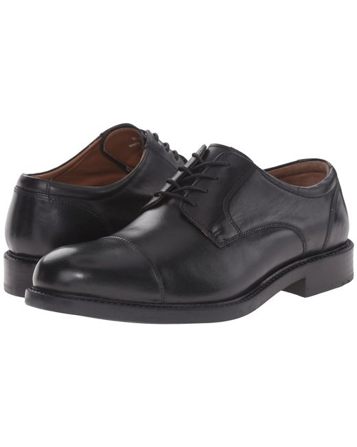 Lyst Johnston Amp Murphy Tabor Dress Cap Toe Oxford Brown