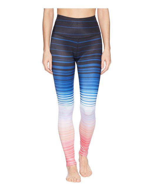 Beyond Yoga - Blue Summer Shades High-waisted Long Leggings - Lyst