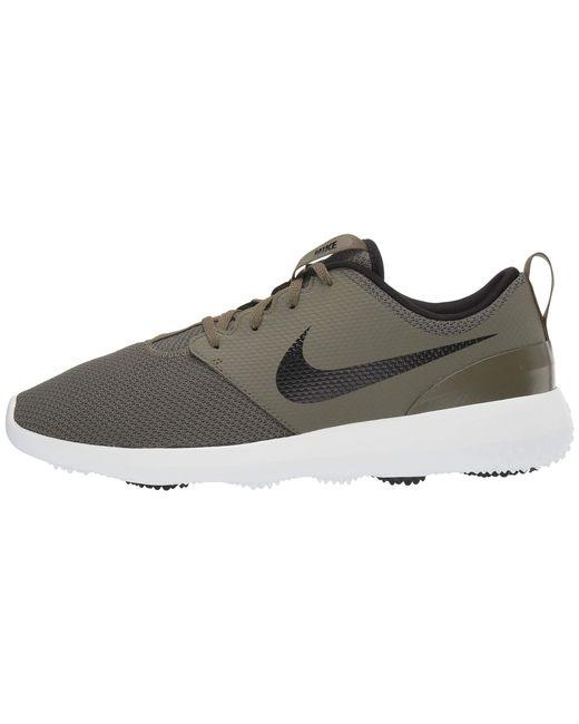 661dd18983f3 ... Nike - Black Roshe G (thunder Blue white) Men s Golf Shoes for Men ...