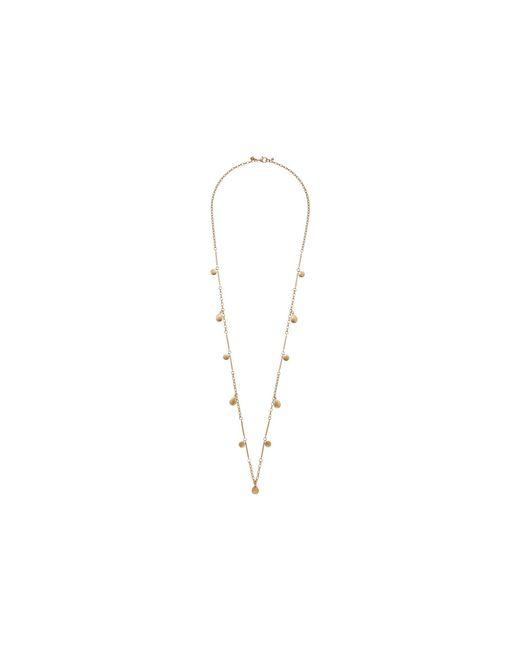 Rebecca Minkoff - Metallic Circle Droplet Pendant Necklace - Lyst