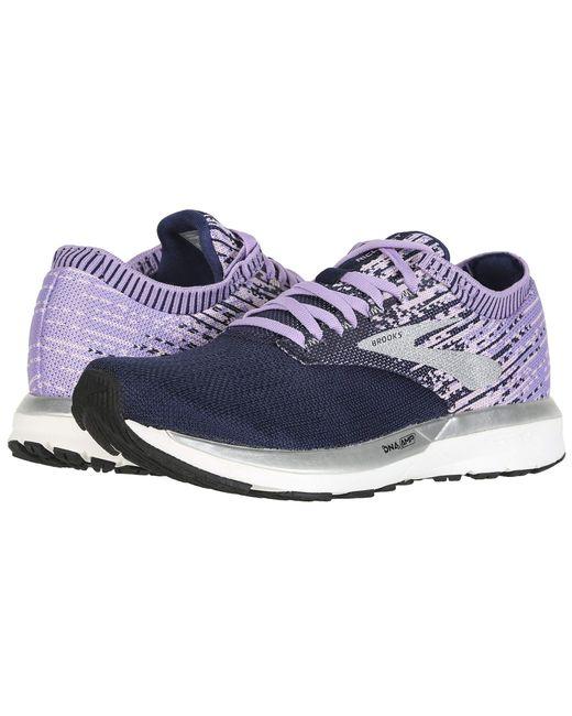 0a3c65f6d65 Brooks - Purple Ricochet (black grey arctic Dusk) Women s Running Shoes ...