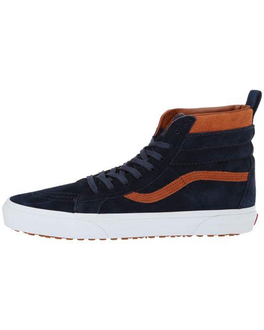 495e4fd63c1 Lyst - Vans Sk8-hi Mte ((mte) Suede chocolate Torte) Skate Shoes in ...