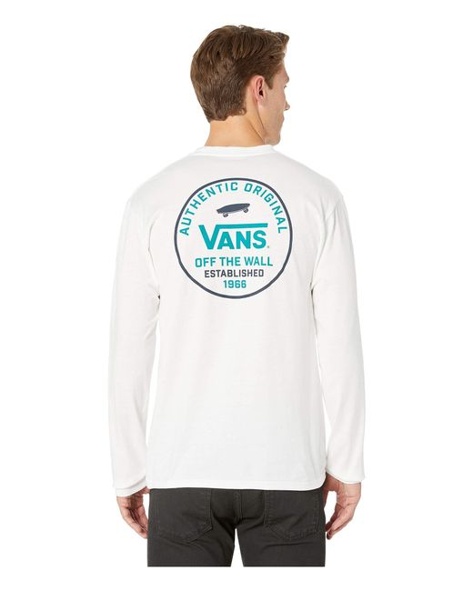 88abbfc828 ... Vans - Svd Original Long Sleeve T-shirt (white) Men s T Shirt for ...