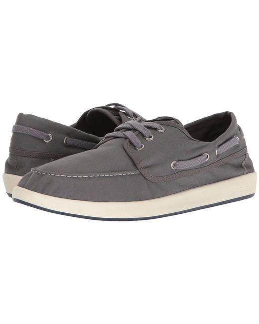 Sperry Top-Sider - Gray Drift Boat 3-eye (white) Men's Shoes for Men - Lyst