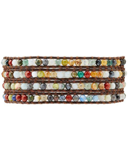 Chan Luu - Multicolor Semiprecious Stone Wrap Bracelet - Lyst
