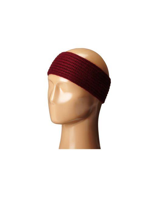 Hat Attack | Purple Cashmere Headband | Lyst