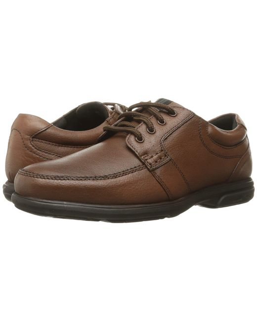 Nunn Bush - Carlin Moc Toe Oxford (brown) Men's Lace Up Casual Shoes for Men - Lyst