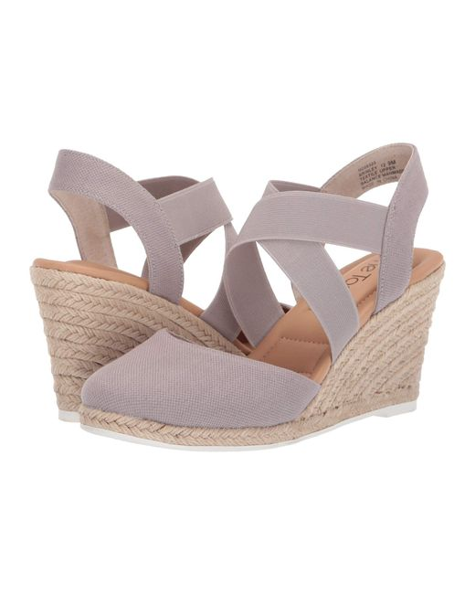 8ca2f16e469 Lyst - Me Too Brinley (blue Ink Canvas) Women s Shoes in Gray