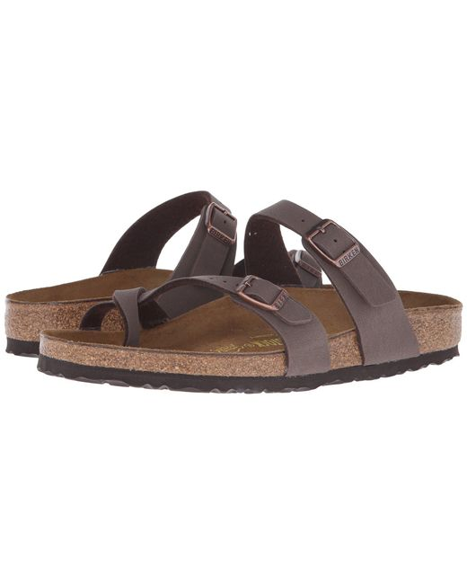 fc717197b32 Birkenstock - Brown Mayari (licorice Birko-flor(r)) Women s Sandals ...