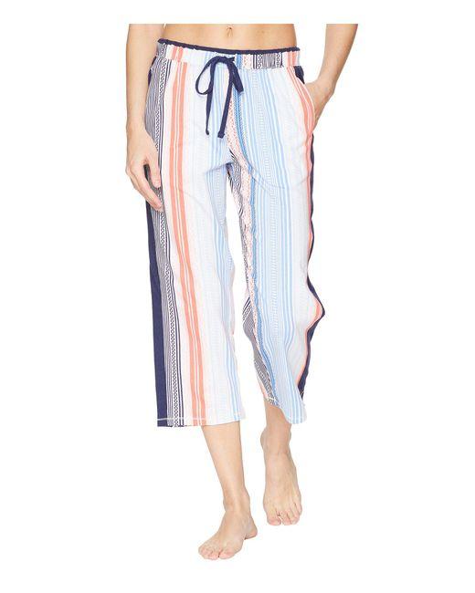 Jockey - Multicolor Cropped Pants (famingo Print) Women's Pajama - Lyst