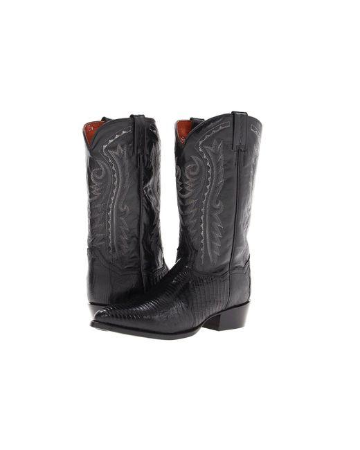 Dan Post - Black Raleigh (antique Tan) Cowboy Boots for Men - Lyst