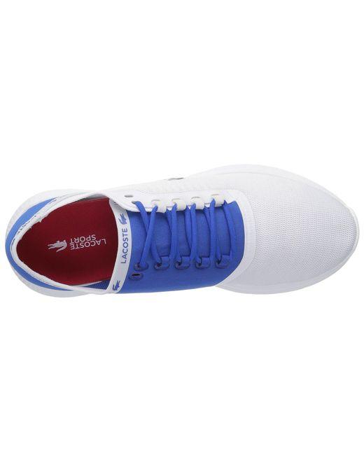 d57dba3c7e0b7 Lyst - Lacoste Lt Fit 118 4 (navy dark Blue) Men s Shoes in Blue for Men