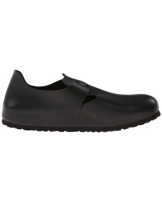 c23b2e60cd07 ... Birkenstock - London Soft Footbed (hunter Black Leather) Shoes - Lyst  ...
