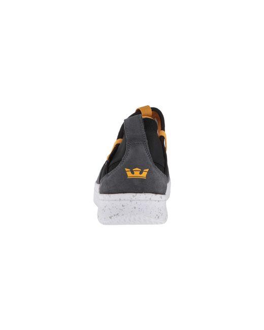 ebb6bd9979f8 Lyst - Supra Titanium (black white) Men s Skate Shoes in Gray for Men