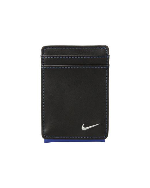 Nike - Color Block Cardfold (black/dark Grey) Wallet Handbags for Men - Lyst
